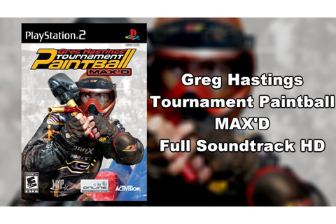 Greg Hastings Tournament Paintball MAX'D - Full Soundtrack ...