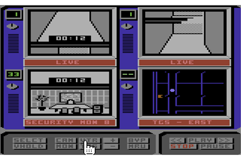Hacker II: The Doomsday Papers (1986) by Activision C64 game