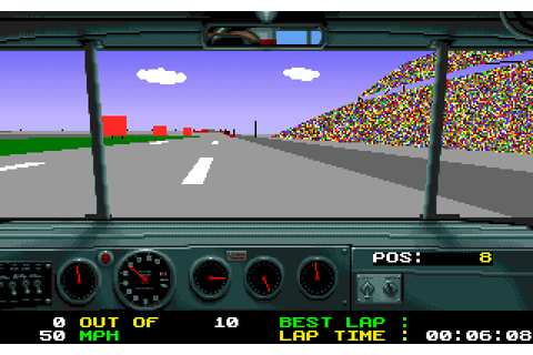 Download Days of Thunder racing for DOS (1990 ...