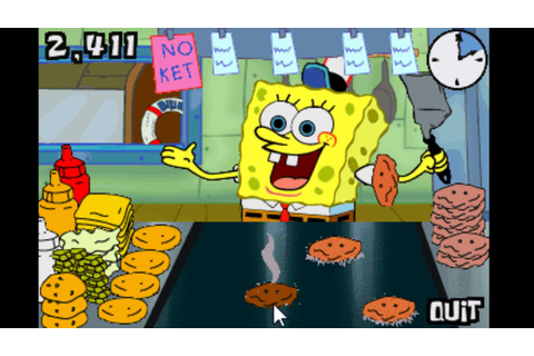Spongebob Squarepants - Flip Or Flop (2001 PC Game) - YouTube
