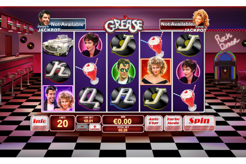 Grease slot from Playtech online play for free