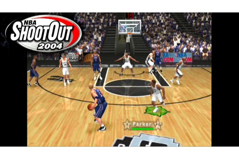 NBA ShootOut 2004 ... (PS2) - YouTube