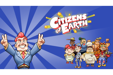 Citizens of Earth Game | PSVITA - PlayStation