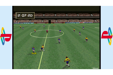 PS1 - FIFA Soccer 96 Gameplay - YouTube