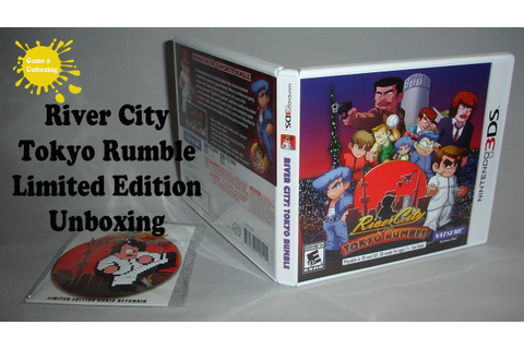 River City: Tokyo Rumble Limited Edition with Keychain ...