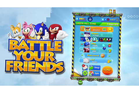 Sega Announces 'Sonic Jump Fever', a Leaderboard-Focused ...