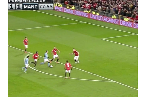 Manchester City's Sergio Aguero Scores Superb Goal To Beat ...