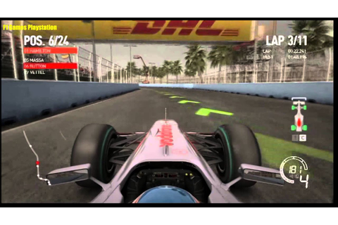 F1 2010 Gameplay PS3 - YouTube