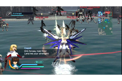 Dynasty Warriors: Gundam Reborn - Freedom Gundam Gameplay ...
