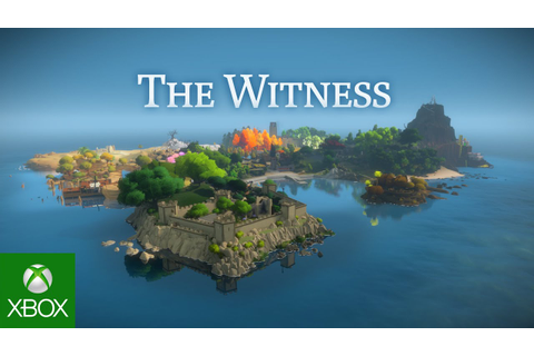The Witness - Xbox One Release Trailer - YouTube