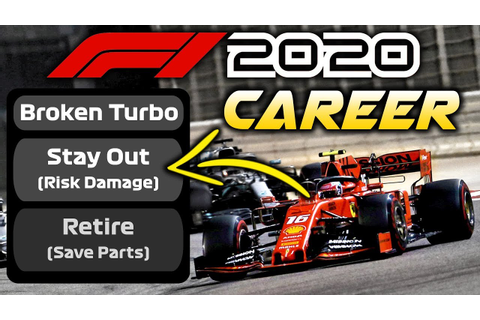 F1 2020 Game | 7 THINGS WE ALL WANT IN F1 2020 CAREER MODE ...