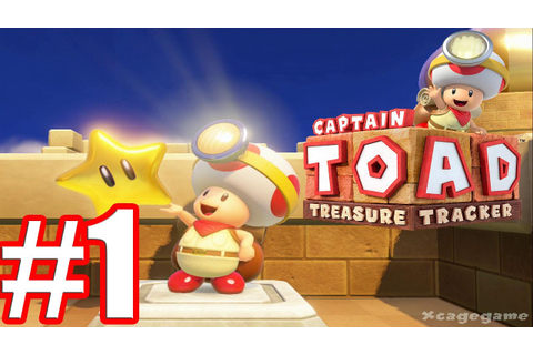Captain Toad Treasure Tracker - Walkthrough Gameplay Part ...