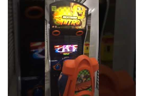 Nicktoons Nitro Sit Down Racing Arcade Game w/LCD monitor ...