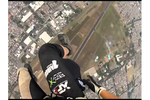 World games skydive Swoop - YouTube