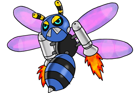 If I could command an army of angry robot bees, I would.