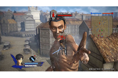 Attack On Titan Gets New Battle Gameplay Trailer ...