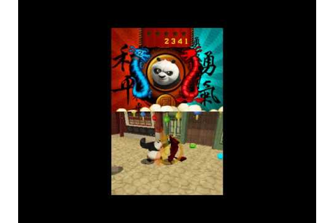 Kung Fu Panda Legendary Warriors(DS) Playthrough P1: The ...