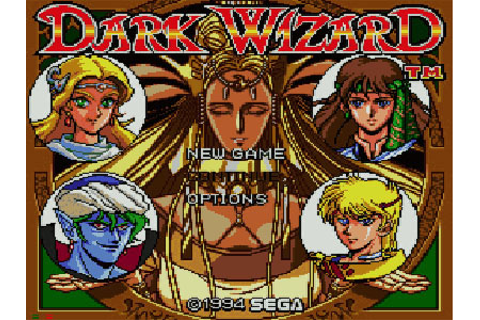 Dark Wizard Review for Sega CD (1994) - Defunct Games
