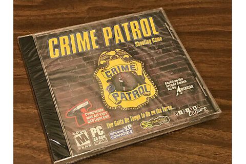 CRIME PATROL BY AMERICAN LASER GAMES LIGHT GUN WINDOWS XP ...