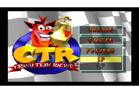 Classic Game - CTR (Crash Team Racing) on PS3 (PSN) in ...