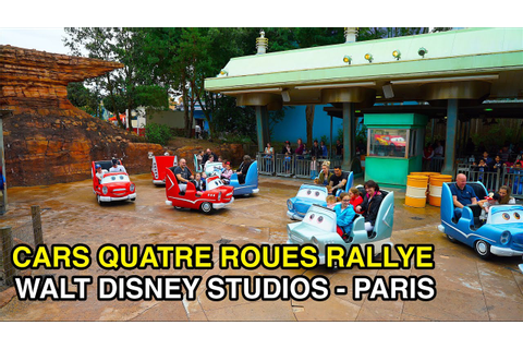 Cars Quatre Roues Rallye - : Walt Disney Studios (Paris ...