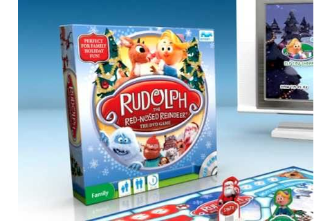 Rudolph the Red-Nosed Reindeer The DVD Game - YouTube