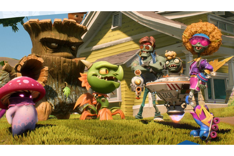 Plants vs. Zombies: Battle for Neighborville is out today ...