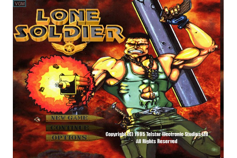 Lone Soldier for Sony Playstation - The Video Games Museum