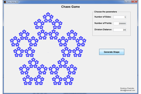 Chaos Game Simulator - File Exchange - MATLAB Central