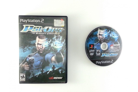 Psi-Ops Mindgate Conspiracy game for Playstation 2 | The ...