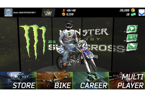 Monster Energy Supercross Game Apk Download - Baixar Jogos ...