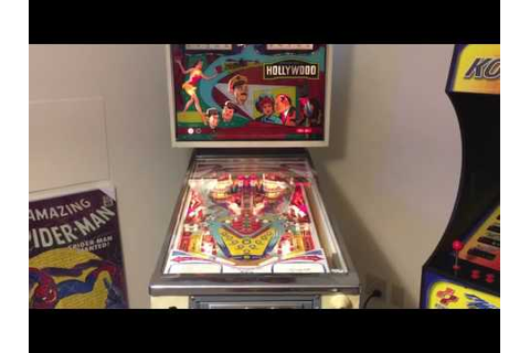 Hollywood Pinball Machine (Chicago Coin, 1976) | Pinside ...