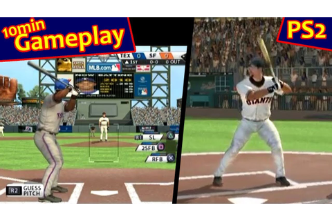 MLB 11: The Show ... (PS2) - YouTube