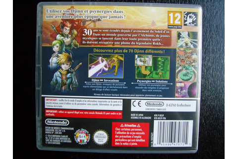 Golden Sun : Obscure Aurore on Qwant Games