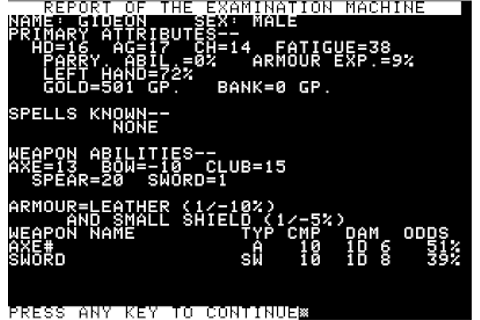 The CRPG Addict: Game 117: SwordThrust (1981)