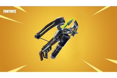 Fortnite Fiend Hunter Crossbows Found in Game in ...