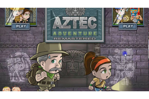 Aztec Adventure Remastered (Two Player Game) - YouTube