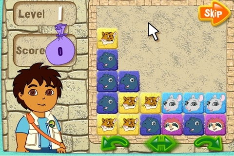 Diego's Puzzle Pyramid Game - Go Diego Go games - Games Loon