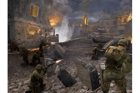 Call of Duty 2 Big Red One PC Game Free Download Full ...