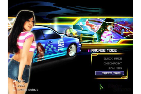SRS: Street Racing Syndicate Download (2004 Simulation Game)