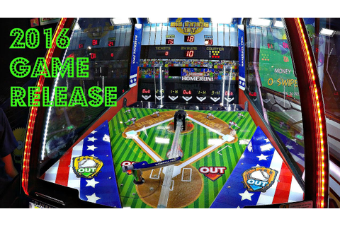 Baseball Pro 2016 Arcade Game Release By Andamiro: First ...