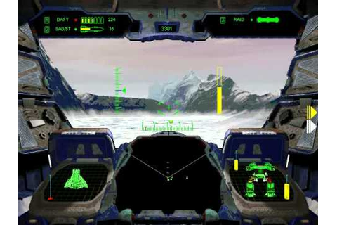 G-NOME 1996 PC game Mission 6 - Dropship Rendezvous - YouTube