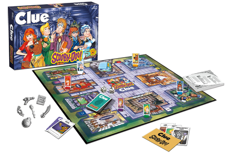Scooby-Doo Clue Board Game