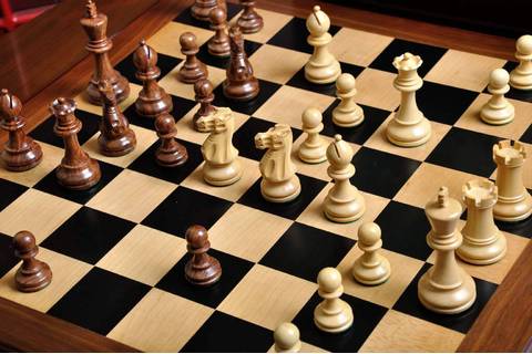 The Superior Grandmaster Chess Set, Box, and Board ...