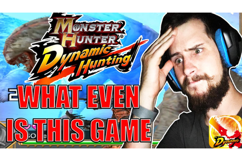 Monster Hunter Dynamic Hunting-WHAT IS THIS GAME!?-(IOS ...