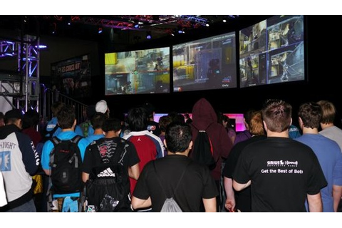 Photos, video and results from video game competition at ...