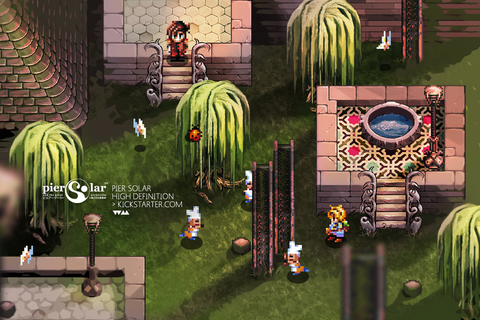 Homebrew RPG Pier Solar and the Great Architects HD remake ...
