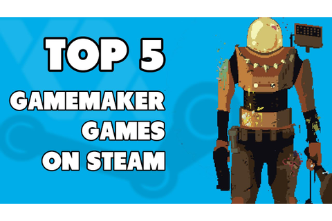 Top 5 Game Maker Games On Steam | FunnyDog.TV