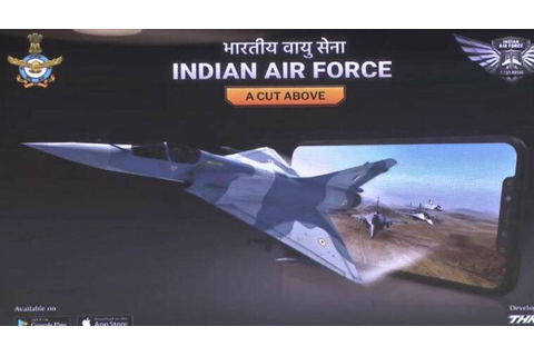 IAF launches 'Indian Air Force: A cut above' mobile game ...