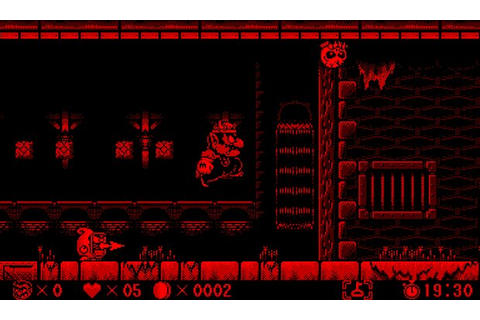 Gamerscoup.com Nintendo Virtual Boy Wario Land Page